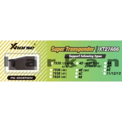 Super Transponder Xhorse